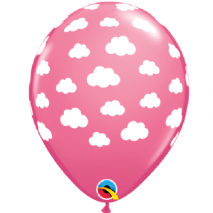 Pink Clouds Latex Balloons | Free Delivery Available